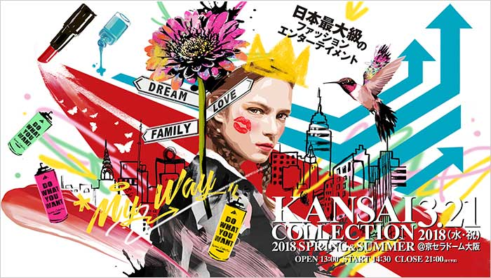 KANSAI COLLECTION 2018S/S